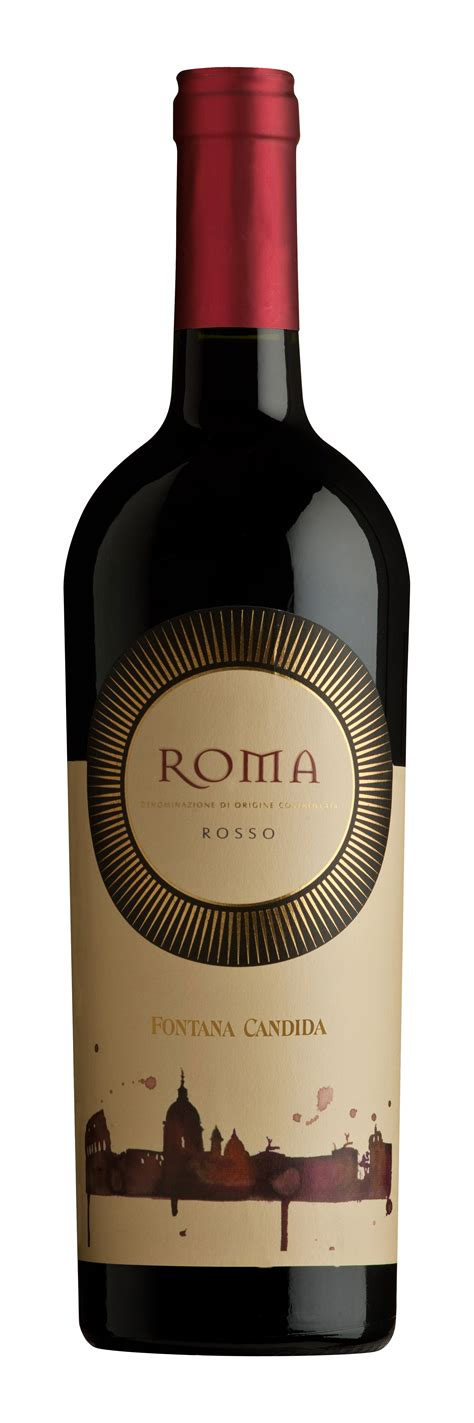 rosso bottle fontana candida roma doc rosso banfi wines