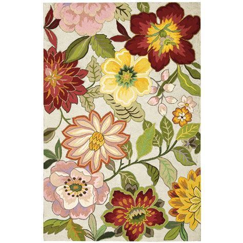 flower rug bouquet floral area rugs