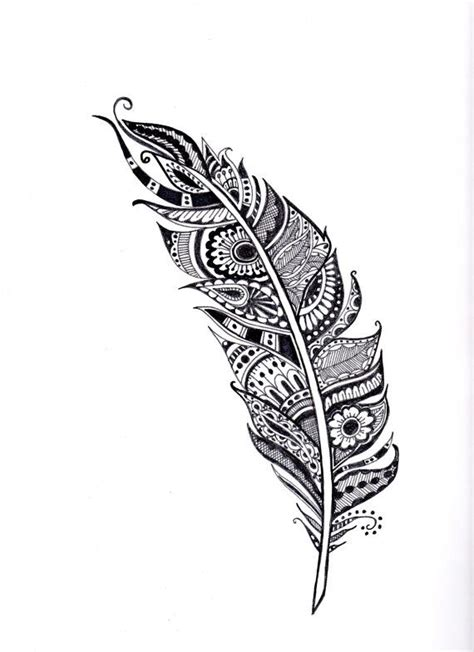 henna feather tattoo designs the 25 best ideas about feather tattoos on