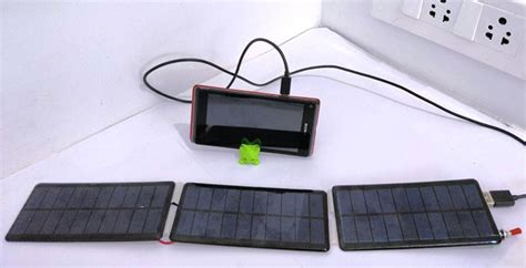 Solar Cell Based Mobile Phone Battery Charger Circuit Diagram