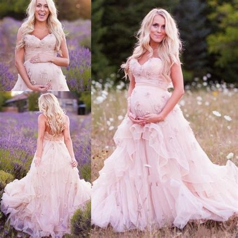 Hochzeitskleid Schwanger neu rosa mutter brautkleid ballkleid abendkleid schwanger