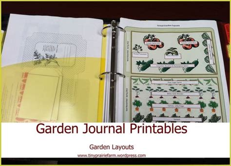printable garden journal pages red gate farm a new spin on my garden journaling