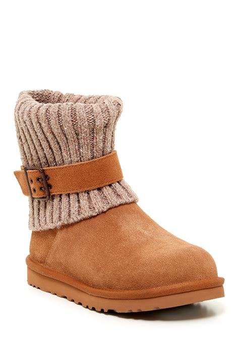 knit uggs ugg knit boots nordstrom