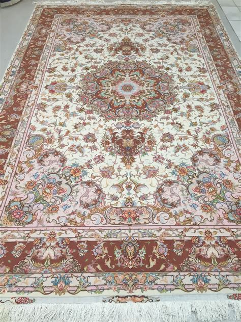 place rugs tabriz rug9 11 x 6 8 ft 303 x 203 cm rugs place