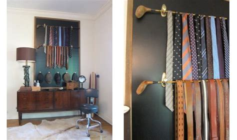 golf home decor crafts to do with old golf clubs