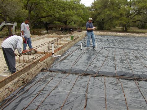 Plumbing Foundation by Redstone Ranch