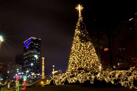 christmas lights atlanta ga city life pinterest