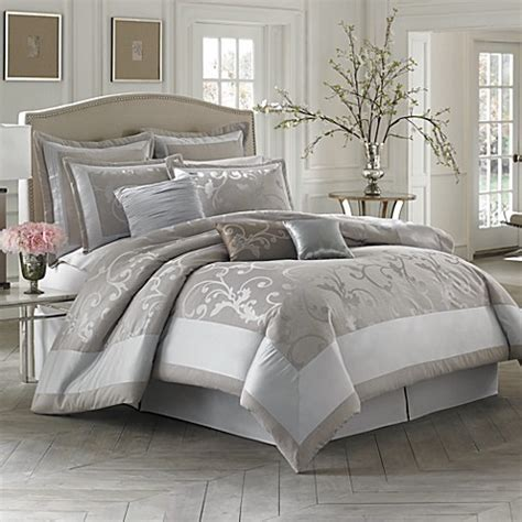 king comforter sets bed bath and beyond buy austin horn classics 4 piece king comforter set from