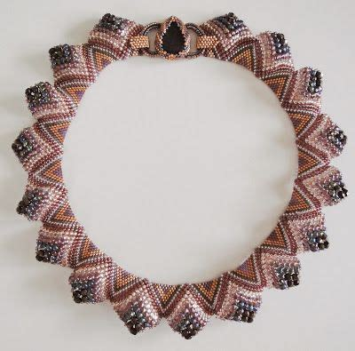 different bead designs collar sculptural peyote with free pdf in and