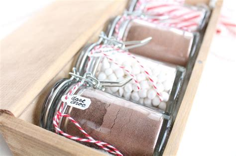 hot chocolate gift set idea gift ideas diy craft