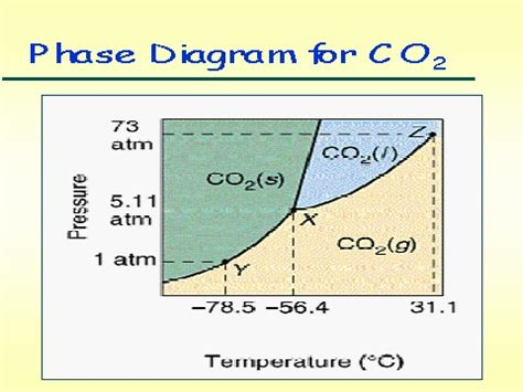 label the phase diagram for carbon dioxide phase diagrams