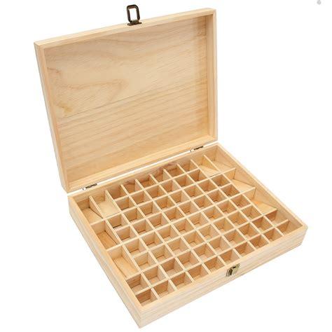 Tretta Storage Box 72 72 grids wooden bottles box container organizer storage for essential aromatherapy alex nld