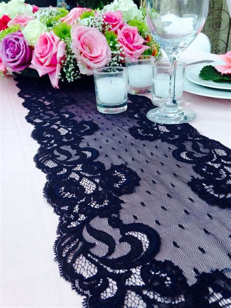 black lace table runner black lace table runner weddings by