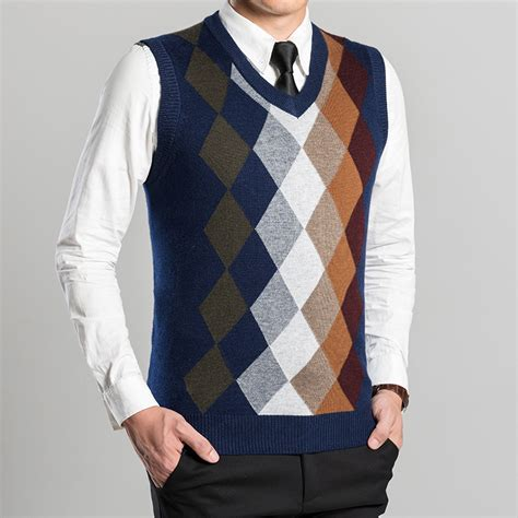 knitting pattern mens sleeveless vest argyle sweater vest mens sweater vest