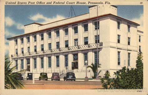 Post Office Pensacola Fl by United States Post Office And Federal Court House