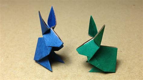 How To Make Rabbit From Paper - how to make an origami rabbit