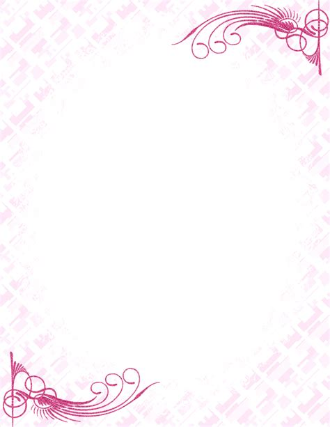 free stationery paper templates 17 stationery border designs images free printable