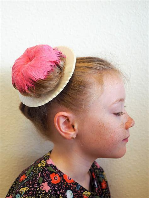Small Hair Donut Donut Bun Hair Bun Cepol Donat Rambut 2 T1310 hiccups donut hair diy