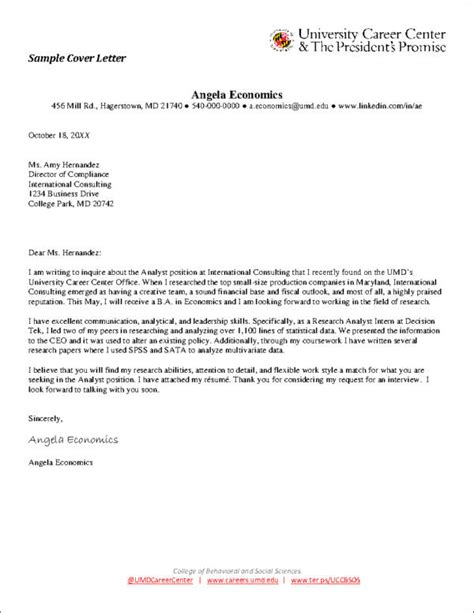 Cover Letter Advice by Cover Letter Exles Writing Tips
