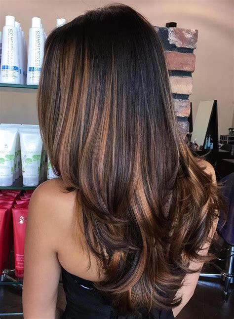 dk mahogony highlights 90 balayage hair color ideas with blonde brown and
