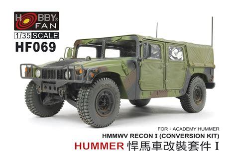 Hummer Husky Army hf069 hmmwv recon i hmmwv in scale