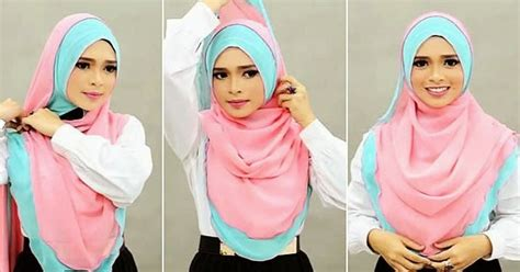 25 tutorial hijab syar i menutup dada modern dan terbaru tutorial hijab syar i menutup dada