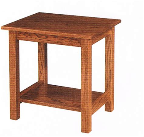 mission style accent table mission style end table ohio hardword upholstered