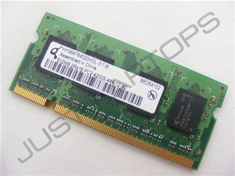 Ram Ddr2 Laptop Hp hp compaq presario c300 pc2 4200 512mb ddr2 266mhz laptop memory ram 435770 001 ebay