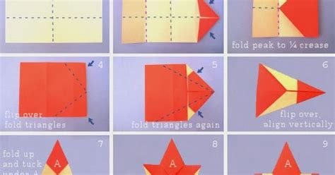 Origami Rectangle - origami with rectangular paper origami flower easy