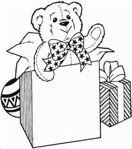 christmas gift coloring
