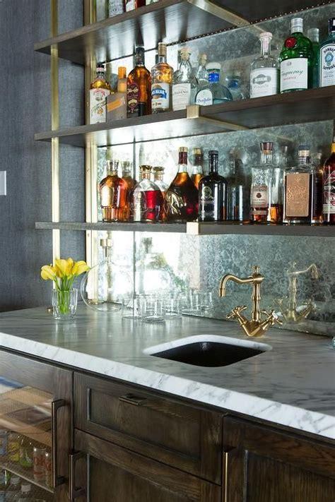 25 best ideas about bar shelves on shelves