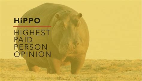 Opinions Paid - 4 ways to avoid the pitfalls of hippo highest paid person s opinion linkedin