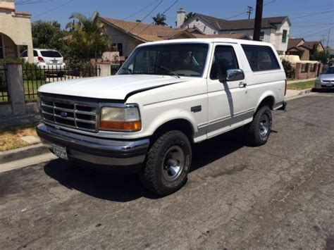 1993 ford bronco xlt low miles 1992 1994 1995 1996