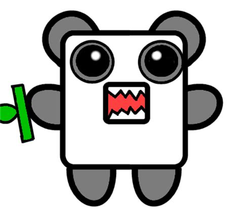how to draw doodle domo domo kun or is it by pandalexi on deviantart