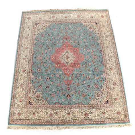wool accent rugs hand knotted persian tabriz wool area rug ebth