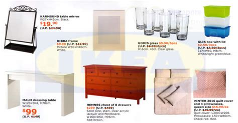 upcoming ikea sales here s ikea s upcoming monthly promo offers valid from 28