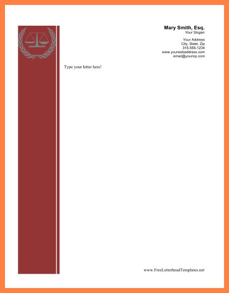 lawyer letterhead templates free corporate attorney resume sle litigation attorney