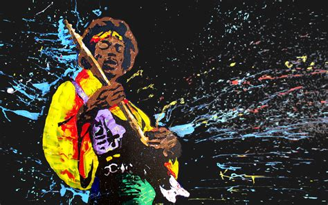 Kaos 3d Jimmy Hendrik Guitar jimi wallpapers high resolution and quality
