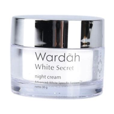 Pelembab Wardah White Secret jual wardah white secret 30 g harga