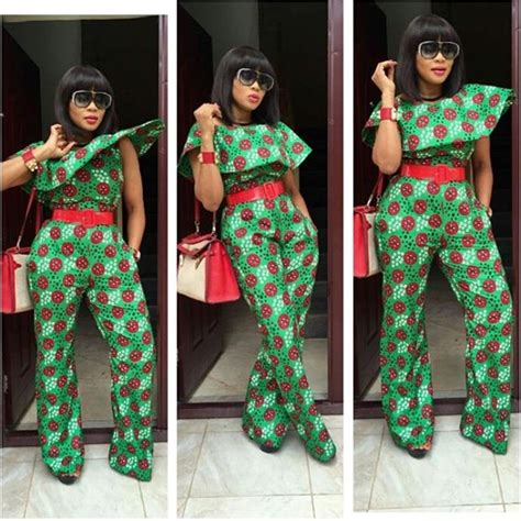 ankara style 2016 jump suit beautiful ankara jumpsuit style dezango fashion zone