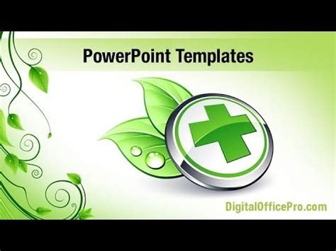 herb powerpoint themes herbal medicine powerpoint template backgrounds