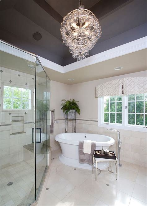 Bathroom chandeliers the most sophisticated addition to your private space decozilla