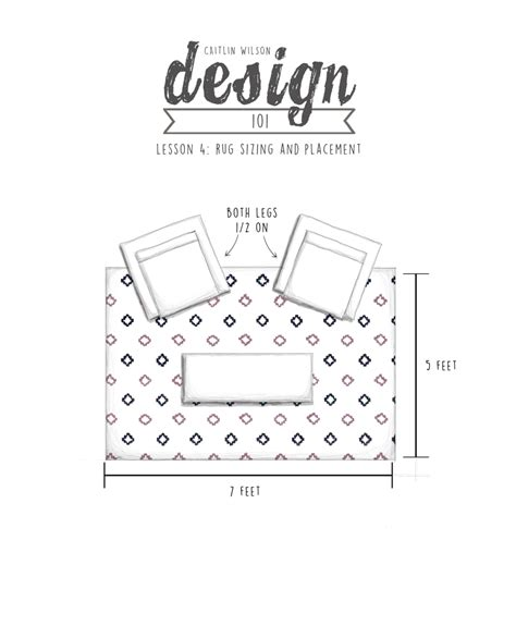 rug layout living room caitlin wilson cw design 101 lesson 4 rug sizing and