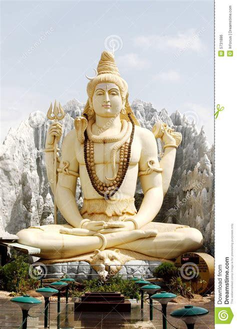god shiva stock photo image  religion blessing yellow