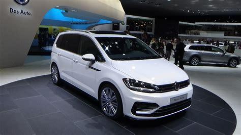 volkswagen minivan 2016 interior 2016 volkswagen touran r line exterior and interior