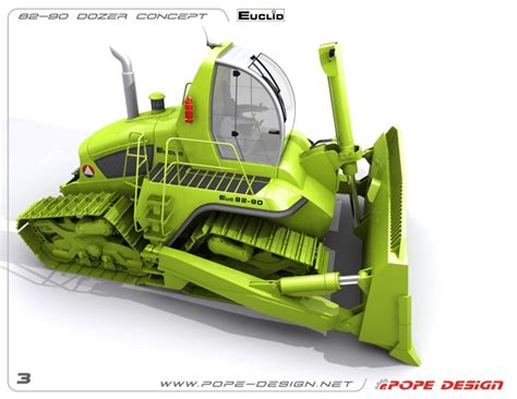design concept construction wordlesstech green dozer concept