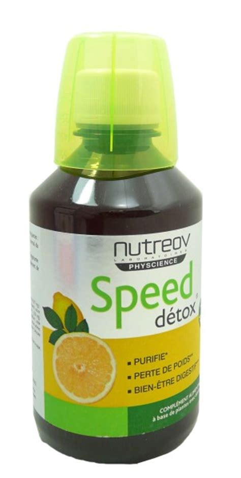 Jazz Detox Shoo by Nutreov Speed Detox 280ml Compl 233 Ments Alimentaires