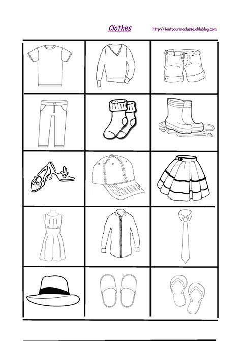 Clothes - Tout pour ma classe