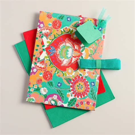 bettina floral handmade fabric gift box world market