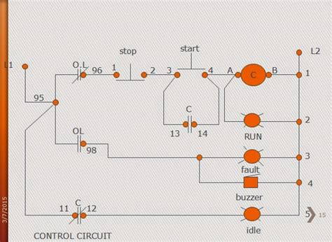 magnetic contactor schematic diagram free